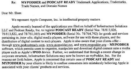 geschiedenis van de podcast. Podcast Ready & Apple